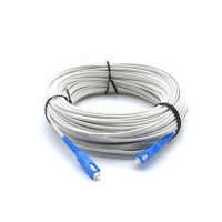 Wholesale Round 100m 200m SC LC FTTH Drop Cable OFNP Jacket from china suppliers