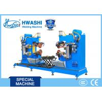 Buy cheap Dual Circular Rolling Seam Welding Machine for Alusil Fuel Tank Cap from wholesalers