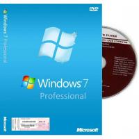 Wholesale Microsoft Windows 7 Pro Coa Sticker , Windows 7 Upgrade Product Key Full Package from china suppliers