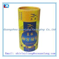 Wholesale custom paper tube for tea packaging from china suppliers