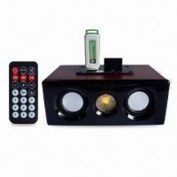 Wholesale Portable Speaker with USB, SD Card, Remote Control, Small Designed and Easy to Take Anywhere from china suppliers