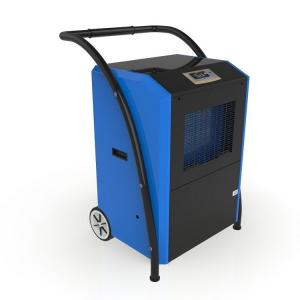 Wholesale 90L/D Hand Push Big Wheel Portable Industrial Dehumidifier from china suppliers