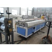 Wholesale WPC PVC Wood Plastic Profile Making Machine / Plastic Profile Extruder from china suppliers