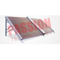 China 50 Tubes Powerful Thermal Stainless Steel Manifold Vacuum Tube Solar Collector for Hopsital on sale