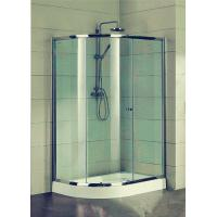 Wholesale Compact D Shaped Quadrant Shower Enclosures 4 Ft Small Corner Shower Stalls from china suppliers