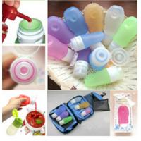 Wholesale Hebei Shengxiang leak proof squeezable, BPA free, Food Grade Protable Silicone Travel Bottle from china suppliers
