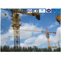 Buy cheap CE approved 8t QTZ100(6013) fixed Tower Crane for sale from wholesalers