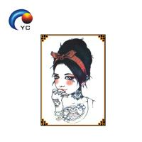 China Waterproof Yincai Temporary Tattoo Sticker For Women Arm Sleeve Chest on sale