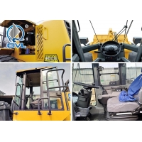 China CVZL50GN /3 m³ ,Compact XCMG Wheel Loader 18T /3.0M3 Rated load is 5000kg With Cumminus Engine on sale