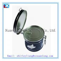 Wholesale coffee gift tin box with lids from china suppliers