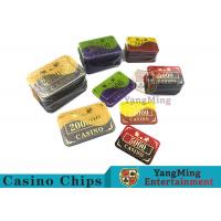 Wholesale Crystal Acrylic Casino Poker Chips With Win bronzing 94 * 66mm from china suppliers