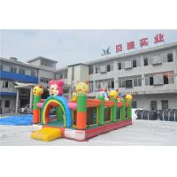 Wholesale Plato PVC Tarpaulin Inflatable Toddler Playground / Inflatable Fun City from china suppliers