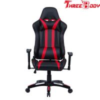 Quality Professional Racing Seat Office Chair , Black And Red Pc World Gaming Chair for sale