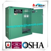 Wholesale Flame Resistant Drum Storage Cabinets With Gas Leaking Alarm For Gas Cylinders from china suppliers