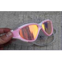 Wholesale Customized Pink Anti Fog Mirrored Swimming Goggles for Womens , Mens from china suppliers