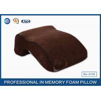Office Massage Nap Memory Foam Sleep Pillow In Curved Bridge Design
