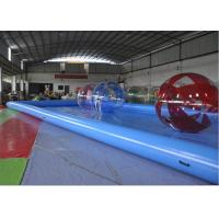 Wholesale Rectangle Inflatable Swimming Pool / Blow Up Swimming Pools For Adults from china suppliers