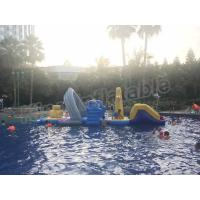 Wholesale Large Floating Inflatable Aqua Park Water Games With Slide For Outdoor Entertain from china suppliers