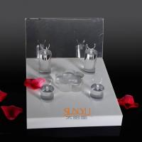 Wholesale Unique Diamond Ring Jewelry Display Stands Acrylic Tray 220×260×175 mm from china suppliers