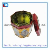 Wholesale rectangular shape tin box for tea packing from china suppliers
