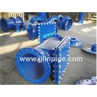 Wholesale Ductile iron pipe fittings, double flanged hatch-boxes. from china suppliers