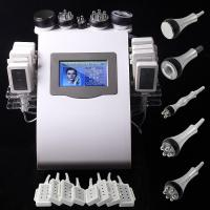 Wholesale 5 Handles laser liposuction equipment , rf cavitation machine from china suppliers