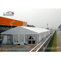 Wholesale Luxury Aluminum White Outdoor Tents For Events / Wedding / Party 500 Seater from china suppliers