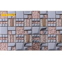 Wholesale Alkali - Resistant Glass And Metal Mosaic Tile , Exterior Mosaic Tiles from china suppliers
