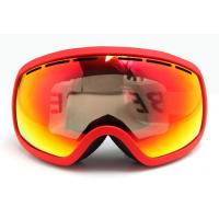 Quality Fashion Ladies Snow Boarding Goggles with PC Lens for Eye Protection for sale
