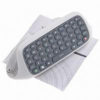 Wholesale Wireless Messenger Keyboard Chatpad for Microsoft's Xbox 360, Durable to Use, Sized 14.2 x 5.1cm from china suppliers
