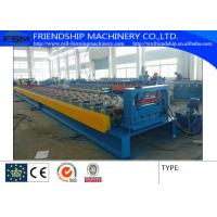 Buy cheap Galvanized Steel Floor Metal Deck Roll Forming Machine With 19 Forming Stations from wholesalers