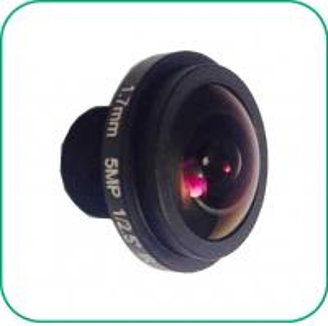 Buy cheap Board Lens 5MP Starlight Camera Lens IP CCTV Camera Focal Length 1.7mm from wholesalers