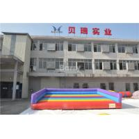 Wholesale Indoor Or Outdoor Kids Play Inflatable Jumping Pad For Sport Game Gladiator Fighting from china suppliers