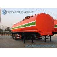 Wholesale Dilute Hydrochloric Acid  35000 L Chemical Liquid Tank Trailer 3 Axles from china suppliers
