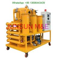 Buy cheap Siemens PLC Controlled Automatic Transformer Oil Purifier, High Performance Dielectric Oil Filtration from wholesalers