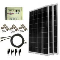 Wholesale 100 watt solar panel kit Solar Power Backup Generator For emergency electricity from china suppliers