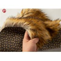 Wholesale Animal Jacquard Extra Long Pile Faux Fur Fabric Raccoon Upholstery Sewing Crafts Fiber from china suppliers