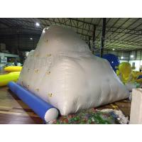 China PVC Tarpaulin Giant White Inflatable Water Toy / Inflatable Iceberg For Water Park on sale