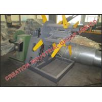 China Unpowered 3 Tons Steel / Aluminium Strip Roll Decoiler Machine on sale