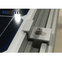 Wholesale Durable Aluminium Solar Roof Mounting Systems Pv End Clamp Customized Dimensions from china suppliers