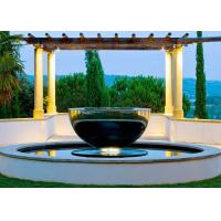 Wholesale Mirror Polished Stainless Steel Outdoor Water Features Hemisphere Shape from china suppliers