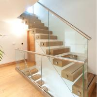 Wholesale Side Mounted Tempered Glass Stainless Steel Standoff Stair Railing from china suppliers