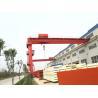 YT BMH model electric hoist single beam Semi gantry crane for sale