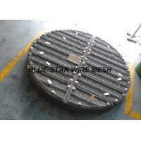 Wholesale Stainless Steel Wire Mesh Demister Pad Round / Rectangle Shape High Density from china suppliers