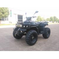 Buy cheap 3KW 72V Motor Electric Utility ATV 4x4 Wheels With Shaft Drive , Black from Wholesalers