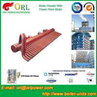 Quality Power Plant CFB Boiler Header / Boiler Low Loss Header High Temperature for sale