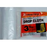 Buy cheap Plastics pe protective drop cloth, high quality plastic protective drop cloth,dust sheet,cover film from wholesalers