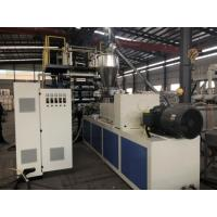 China Soft / Rigid PVC Sheet Extrusion Line 600mm 800mm Product Width For Printing Business Card on sale