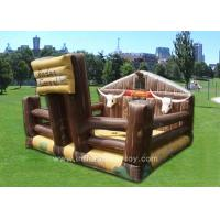 Wholesale Outdoor Funny Inflatable Sports Games Comercial Electronic Bull For Kids from china suppliers