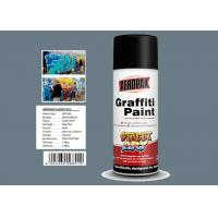 Grey Color Graffiti Wall Painting Easy Construction Operation Drying Quickly for sale